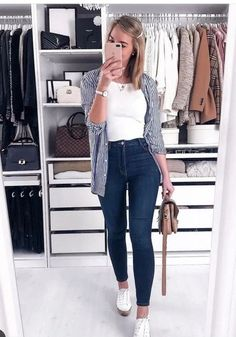 Best Spring Outfits Ideas for a Nice Day . Best Spring Outfits Ideas for a Nice Day . # day 40 The best ideas for a leisure school outfit th. Uni Outfits, Casual Work Outfits, Business Casual Outfits, Simple Outfits, Everyday Outfits, Classy Outfits, Spring Outfits, Trendy Outfits, Fashion Outfits