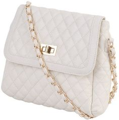 Quilted Chain Strap Crossbody - Forever 21 - £.22.75