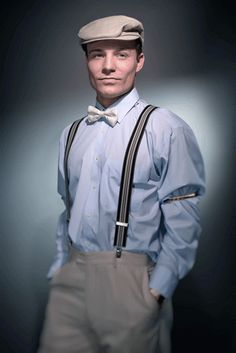 1920s-mens-fashion-suspenders #MensFashionSuspenders