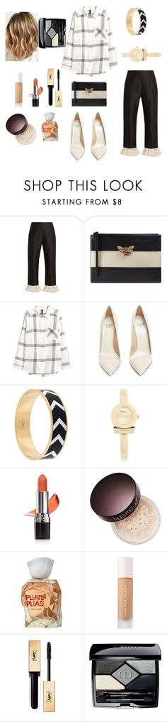 """Untitled #67"" by mihaelamihu ❤ liked on Polyvore featuring Isa Arfen, Gucci, Francesco Russo, Givenchy, Salvatore Ferragamo, Avon, Laura Mercier, Issey Miyake, Puma and Christian Dior"