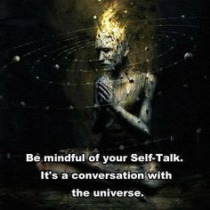 Be mindful of your self-talk, the Universe is listening. Everything we think is energy. If we train our thoughts toward positivity, we see positive results. It takes training. Citations Marketing, Citations Business, David Ho, David James, Self Talk, Spiritual Quotes, Spiritual Awakening, Spiritual Enlightenment, Spiritual Growth