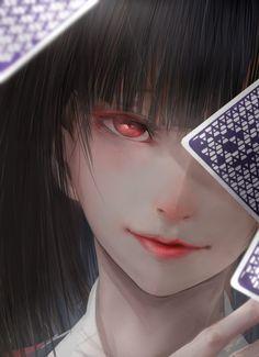 Chiêm ngưỡng fanart Jabami Yumeko trong Kakegurui siêu đẹp | Cotvn.Net