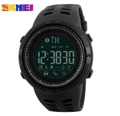 Purchase SKMEI Waterproof Bluetooth Sport Smart Watch Phone Mate Android IOS Wristwatch smart 1389 from Yuanzala on OpenSky. Share and compare all Electronics. Digital Sports Watch, Digital Watch, Smartwatch, Cool Watches, Watches For Men, Wrist Watches, Men's Watches, Unusual Watches, Ladies Watches