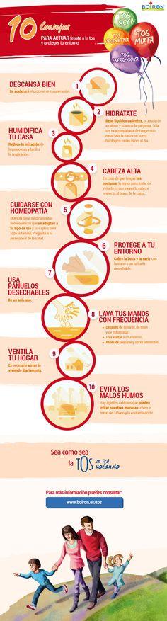10 consejos PARA ACTUAR frente a la tos y proteger tu entorno.