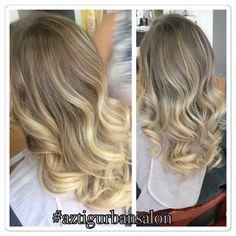 #blonde #balayage