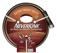 NeverKink 8642-75 Series 3000 Extra Heavy Duty Garden Hose, 5/8-Inch by 75-Feet Teknor Apex http://www.amazon.com/dp/B00INTILTC/ref=cm_sw_r_pi_dp_iy7Vub0F9Q8BC