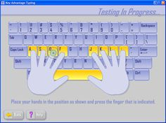 Good Typing - A great free online course w/ 27 lessons on Typing