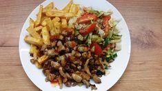 Friss fűszeres finom vacsora 10 perc alatt! Fresh spicy delicious dinner... Spicy, The Creator, Fresh, Chicken, Dinner, Food, Youtube, Dining, Food Dinners