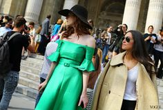 The Native Shoe: Paris Spring 2014 Fashion Week Street Style Part 2