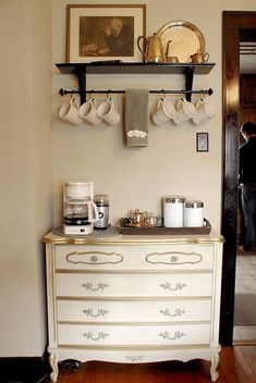 Passion & Pursenality Art and Design: Nesting Project -- Coffee Bar