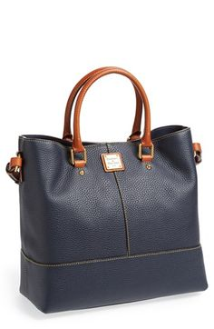 """Dooney & Bourke Leather Tote 