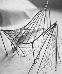 le corbusier model wire and string - Google Search