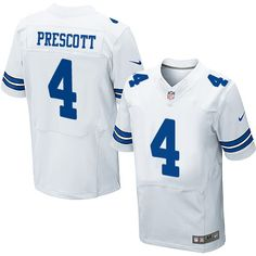 Nike Cowboys Dak Prescott White Men s Stitched NFL Elite Jersey And Cowboys  Cole Beasley 11 jersey e986dcbde
