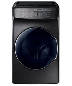 One of Our Favorite Washing Machines of 2017: New Samsung FlexWash in Black Stainless Steel