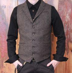 Nudie Jeans Co Gusten Organic Shirt Black on Blue Denim Blue de Gênes Monta Waistcoat Peter Fields Wallet Rope in black Edwin 55 Chino French Twill Black