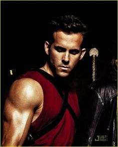 Ryan Reynolds without the beard.