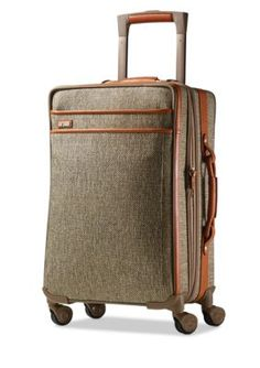 2acef90ab3a3 Hartmann Natural Tweed TWEED CARRY ON EXPANDABLE SPINNER Travel Luggage