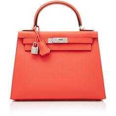 Heritage Auctions Special Collection Hermes 28cm Rose Jaipur Epsom... (€24.305) ❤ liked on Polyvore featuring bags, handbags, pink, rose handbag, genuine leather handbags, pink handbags, hermes purse and genuine leather purse