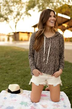 Pullovers & Cutoffs~ so ideal for a fall day in college