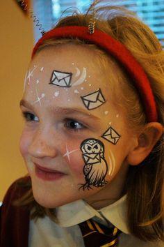 face paint harry potter - Google Search