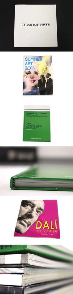 Specializzati nella realizzazione e stampa di cataloghi d'arte, guide per musei e materiale promozionale artistico.