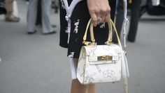 16 mini bags that will give you major style cred via @stylelist. Gorgeous bags.