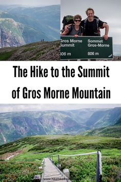 One of the best hikes - though a challenging one takes you to the summit of Gros Morne Mountain in Gros Morne National Park Avoid days with thick fog. Newfoundland Canada, Newfoundland And Labrador, East Coast Canada, Gros Morne, Visit Canada, Canada Eh, Ontario Parks, Hiking Training, Mountain Hiking