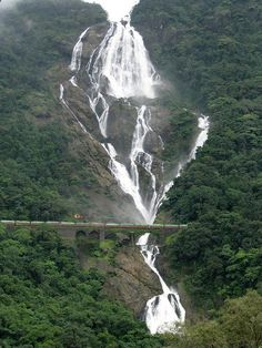 Braganza Ghats, Dudhsagar waterfalls, Hyderabad, India