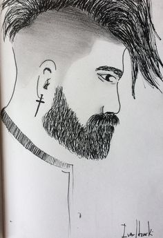 #draw #illustration #sketch #sketchbook #pen #nankin #boy #men #ivanlitenskiartista #style #hairstyle #hair #styleboy #stylemen