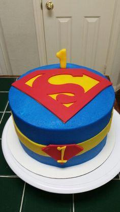 Amy's Crazy Cakes - Superman Cake