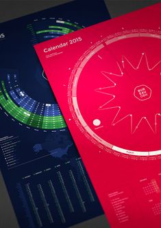 Bureau Oberhaeuser Calendar 2015 on Behance