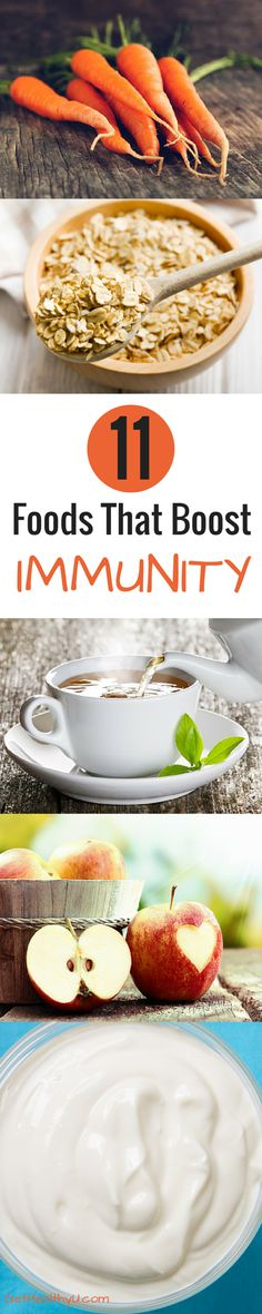 11 foods that boost immunity #foodfacts #stayhealthy #health