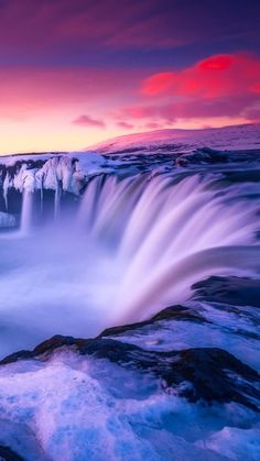 Waterfall Iceland Wallpapers | hdqwalls.com