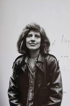 Susan Sontag photographed by Jesse Fernández.