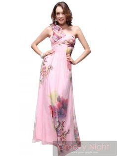 イチゴミルクみたいなパステルフラワーロングドレス♪ - ロングドレス・パーティードレスはGN|演奏会や結婚式に大活躍!