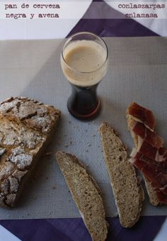 Masa madre y Pan de cerveza negra y avena
