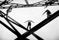 Suicide rescue from the the top of the Toreo Stadium #3, 1971