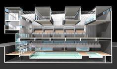 Pabellón Polideportivo y Piscina Cubierta / Alday Jover Arquitectura y Paisaje