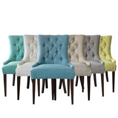 Shop for Greyson Living Mirella Tufted-back Chair. Get free shipping at Overstock.com - Your Online Furniture Outlet Store! Get 5% in rewards with Club O!