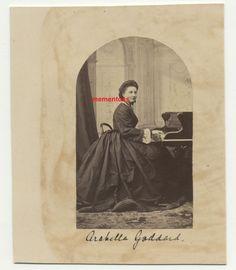 Arabella Goddard (1836-1922) Albumen Photograph c1865 Pianist Playing Piano Playing Piano, Photographs, Victorian, India, Painting, Goa India, Photos, Painting Art, Paintings