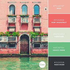 Wanderlust Collection: Very Venice. Try this combination in your next design!