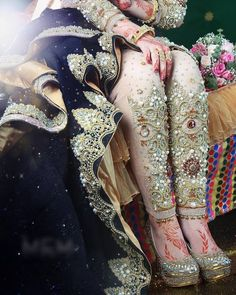 Awesome Dress of a Bride with Shoes Dp The post Awesome Dress of a Bride with Shoes Dp appeared first on Wallpaper DPs. Bridal Mehndi Dresses, Pakistani Wedding Dresses, Pakistani Suits, Beautiful Dresses, Nice Dresses, Beautiful Bride, Bridal Sandals, Bridal Shoe, Bridal Lingerie