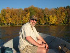 Fishing Lake Gogebic in Michigan's incredible Upper Peninsula - Sept 2014