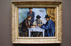 The Card Players. Oil on canvas 1890 -92
