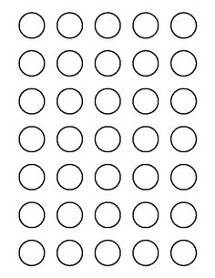 1 Inch Round Label Template Elegant 1 Inch Circle Pattern Use the Printable Outline for Circle Template, Circle Labels, Circle Pattern, Free Pattern, Royal Icing Templates, Free Label Templates, Shape Templates, Printable Shapes, Printable Stickers