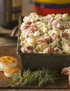 Old-Fashioned Potato Salad (hands-down best I've ever made--awesome recipe)