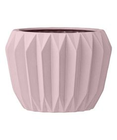 This Nude Ceramic Fluted Flower Pot is perfect! #zulilyfinds