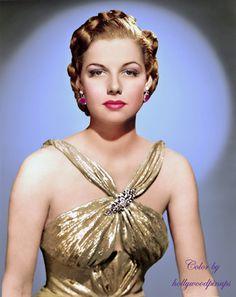 Ann Sheridan - Born on 21 February 1915 in Denton, Texas (USA). Died on 21 January Birth name was Clara Lou Sheridan. Vintage Hollywood, Old Hollywood Glamour, Classic Hollywood, Hollywood Stars, Golden Age Of Hollywood, Hollywood Divas, Classic Actresses, Hollywood Actresses, Beautiful Actresses