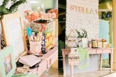 Stella's Little Baker Themed Party – Entrance Details