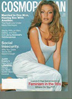 Cosmopolitan Magazine May 1994 Bridget Hall Cover - Found on Lookza.com ----   www.advintageplus.com